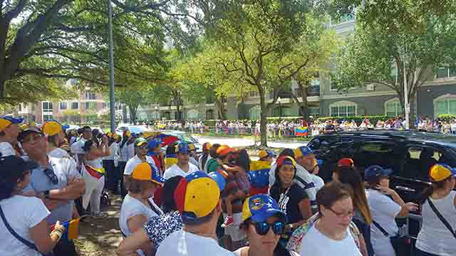 houston protesta contra maduro 1