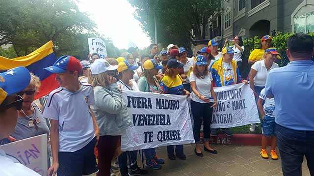 houston protesta contra maduro 4